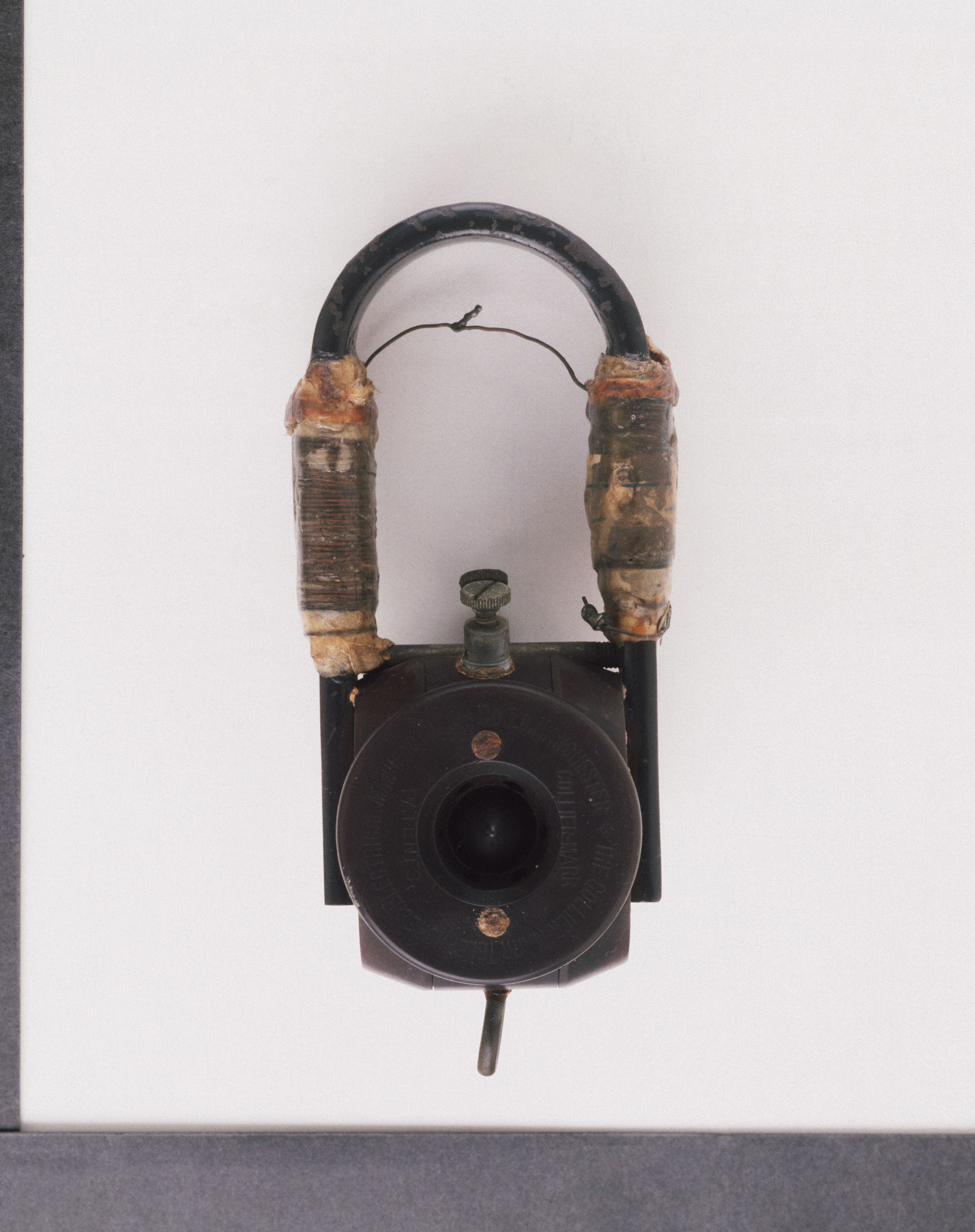 A receiver used by Guglielmo Marconi (18741937) in 1901