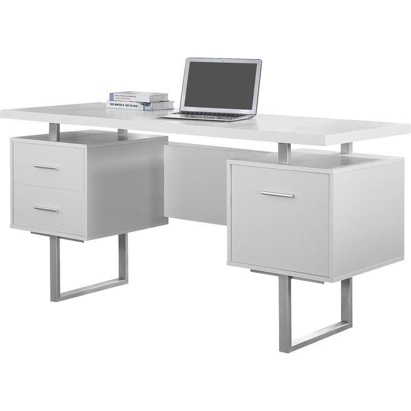 Rundall Writing Desk Reviews Allmodern Cheap Office Furniture Modern Computer Desk Office Desk