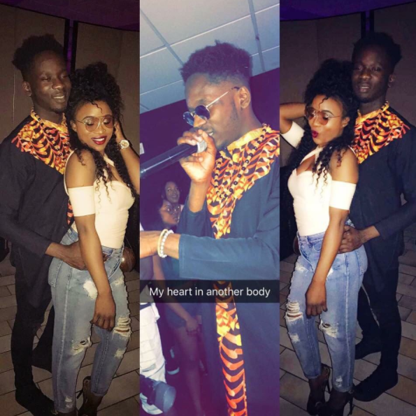 Lady claims Mr Eazi is her boyfriendshares photos and