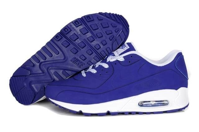 Nike Air Max 90 Men's Sharpei Blue Shoes HOT SALE! HOT PRICE!