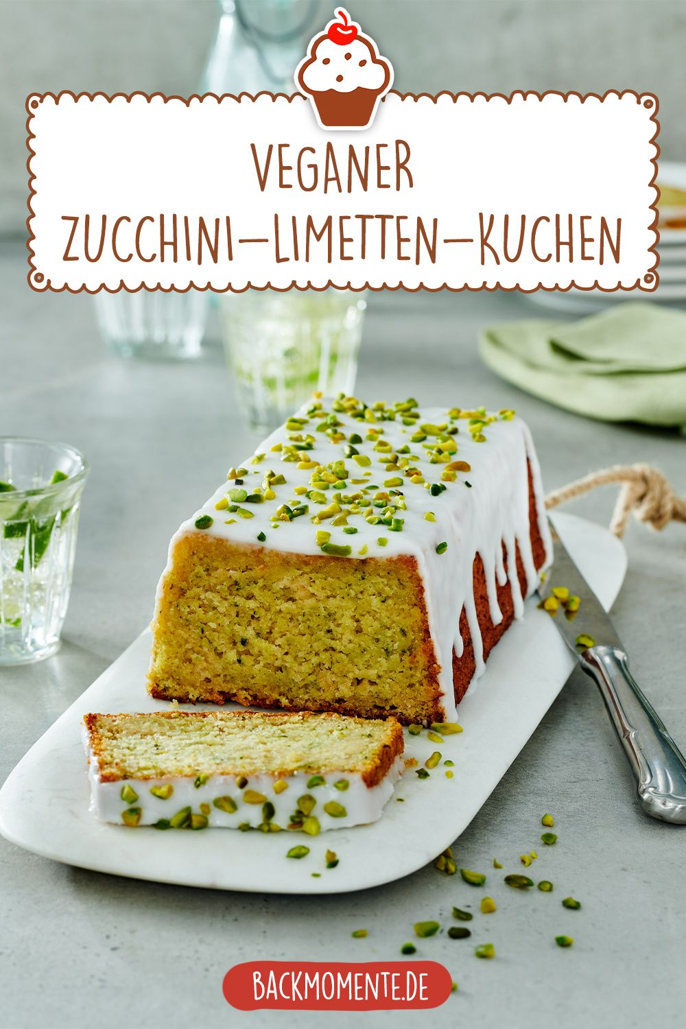 Fruchtiges Zucchini Limetten Kuchen Rezept Rezept Zucchini Kuchen Kuchen Veganer Kuchen