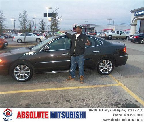 Happy Anniversary to Toni Reese on your 2008 #Buick #La Crosse from John  Daly IV and everyone at Absolute Mitsubishi! #Anniversary