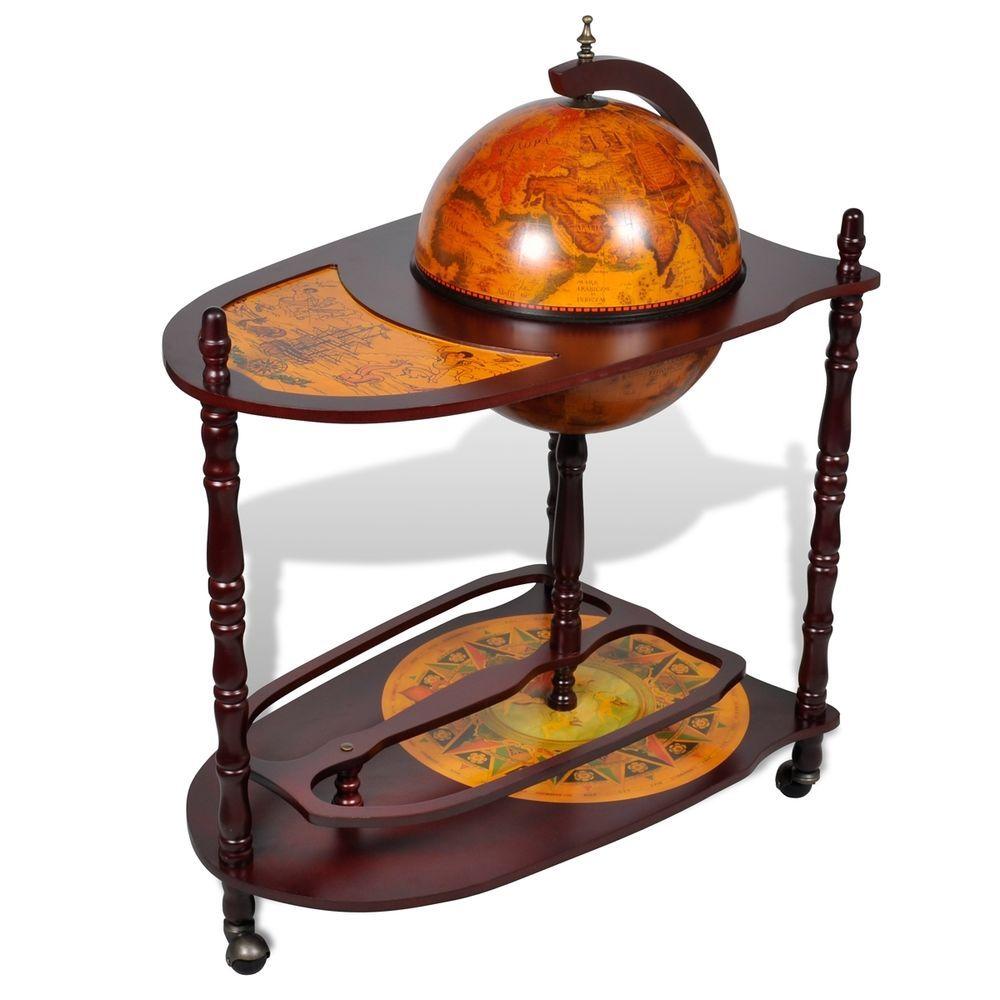 globus bar hausbar minibar globusbar wein tischbar dekobar mit tisch rollen my wedding. Black Bedroom Furniture Sets. Home Design Ideas