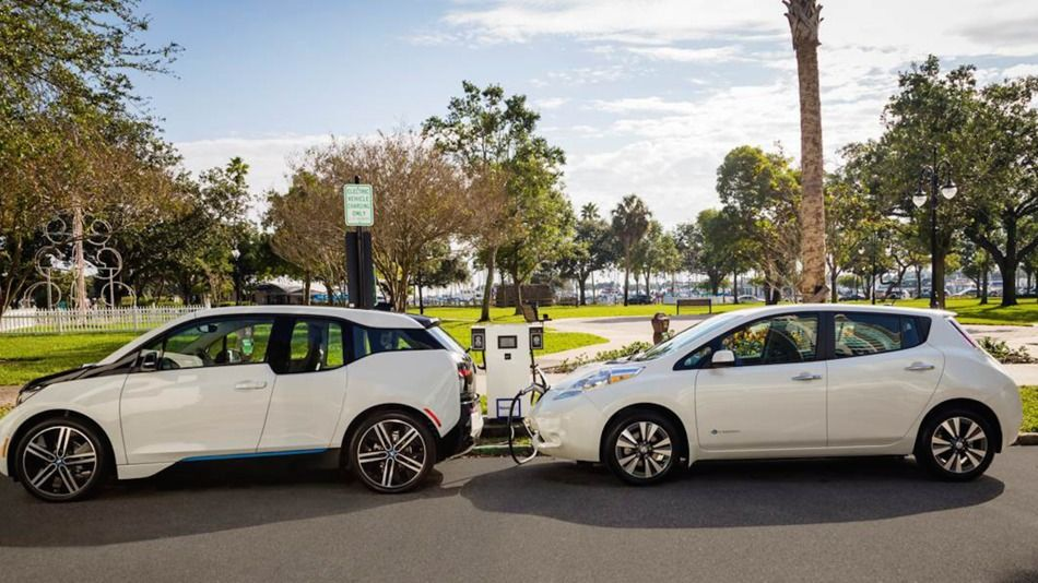 Bmw And Nissan S Joint Fast Charger Network Is A Shot Across