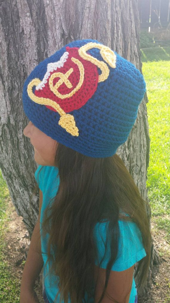 READY TO SHIP Disney Descendants child size inspired beanie hat Evie ...