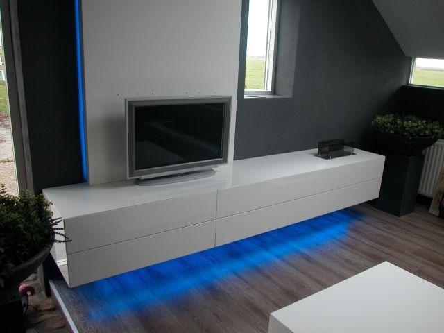 hoogglans tv meubel - Google Search