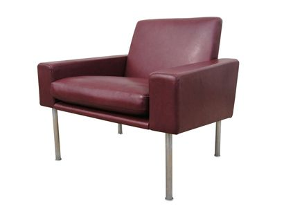 Machine Age – New England's Largest Selection of Mid-20th Century Modern Furniture   Early Airport Lounge Chair by Hans Wegner