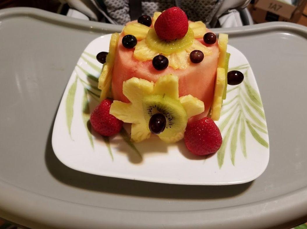 Vegan sugarfree glutenfree smash cake for your little ones 1st