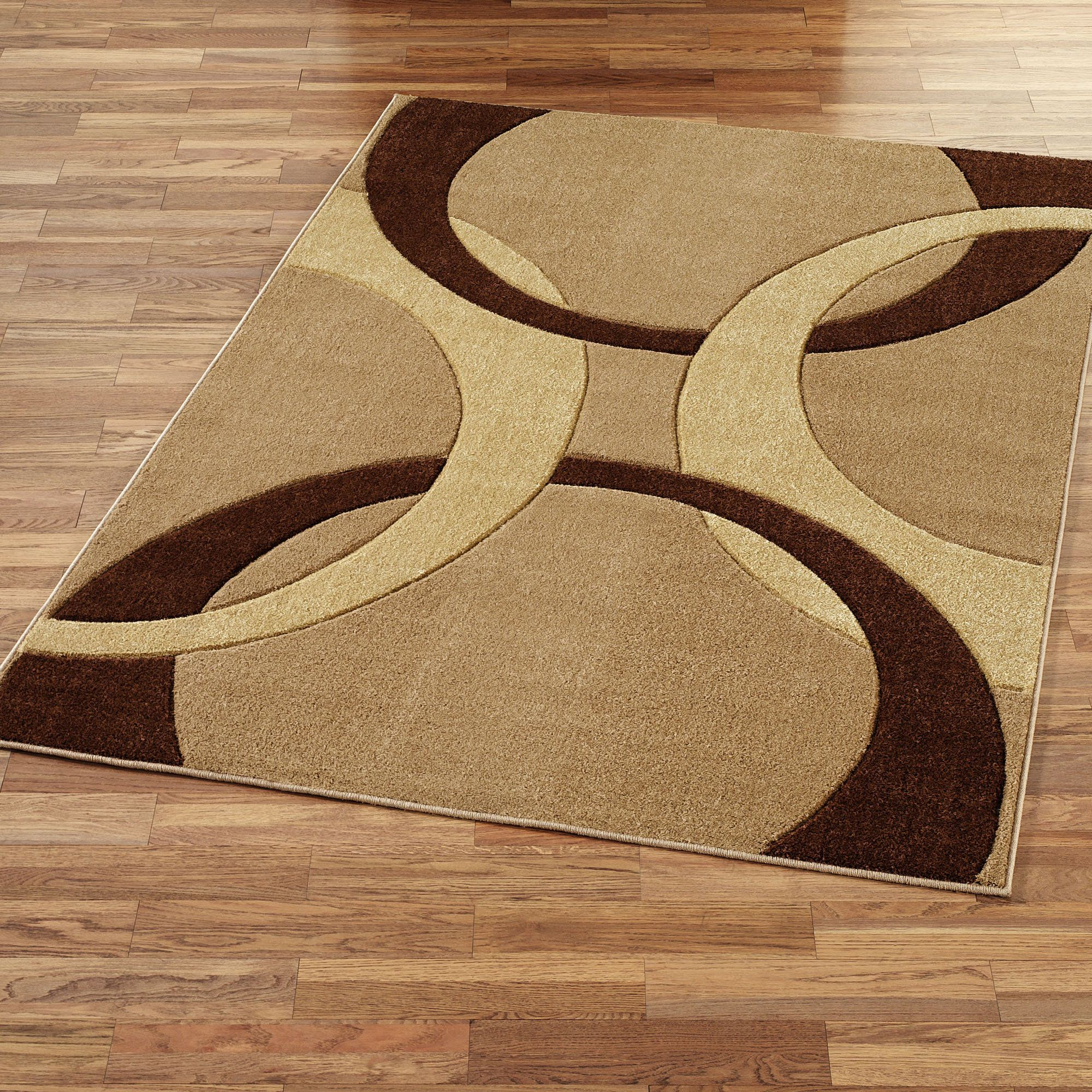 Brown And Gold Area Rug Area Rug Design Rug Design Patterns Area Rugs