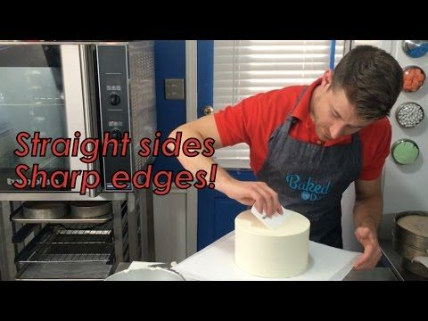 The Upside-Down cake frosting technique!