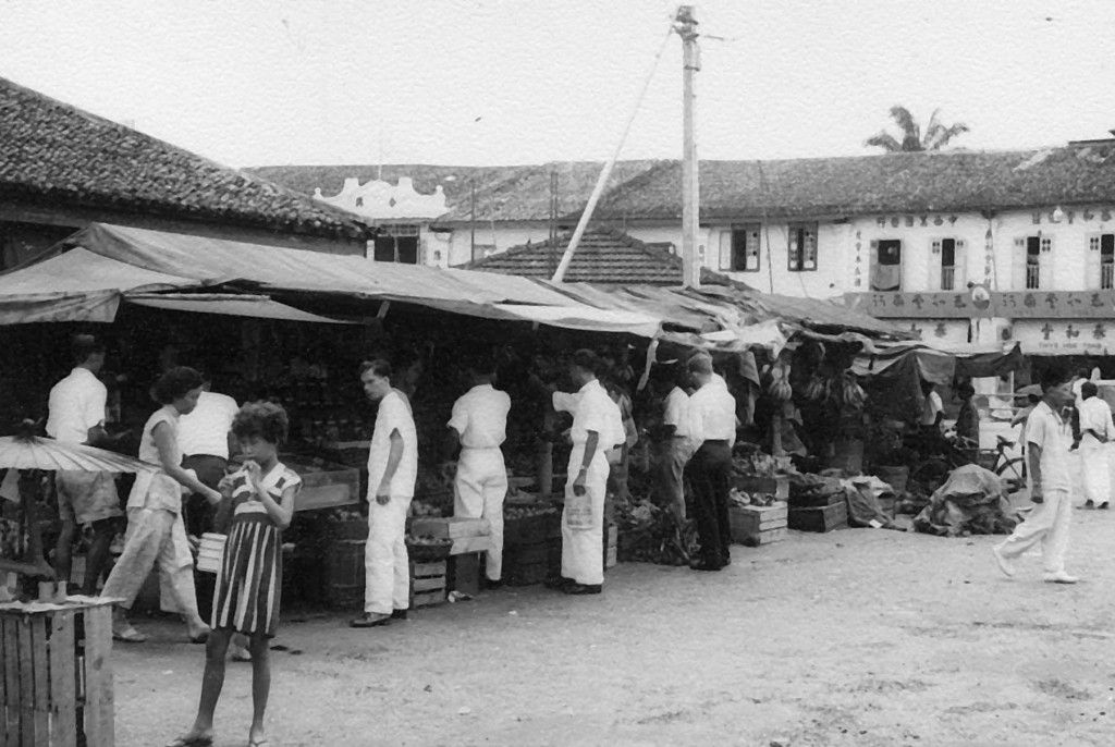 Changi Village, circa 1958. Changi, Singapore photos