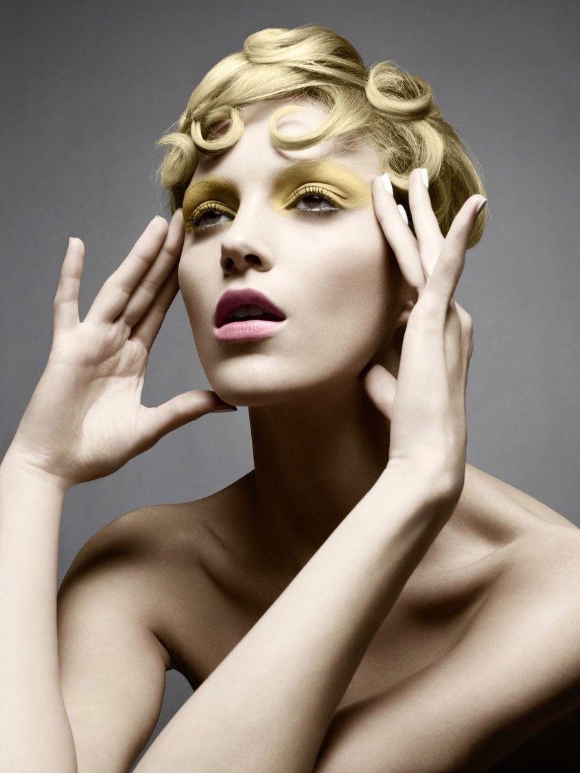 """Nude Colors"" Anja Rubik by Sølve Sundsbø for Vogue Japan March 2008. Styling: George Cortina Hair: James Brown Makeup: Lisa Butler Nails: Mike Pocock"