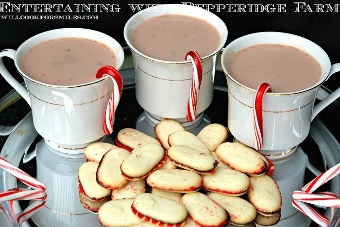 Will Cook For Smiles: Entertaining With Pepperidge Farm Cookies and Party Favors #HolidayGuide
