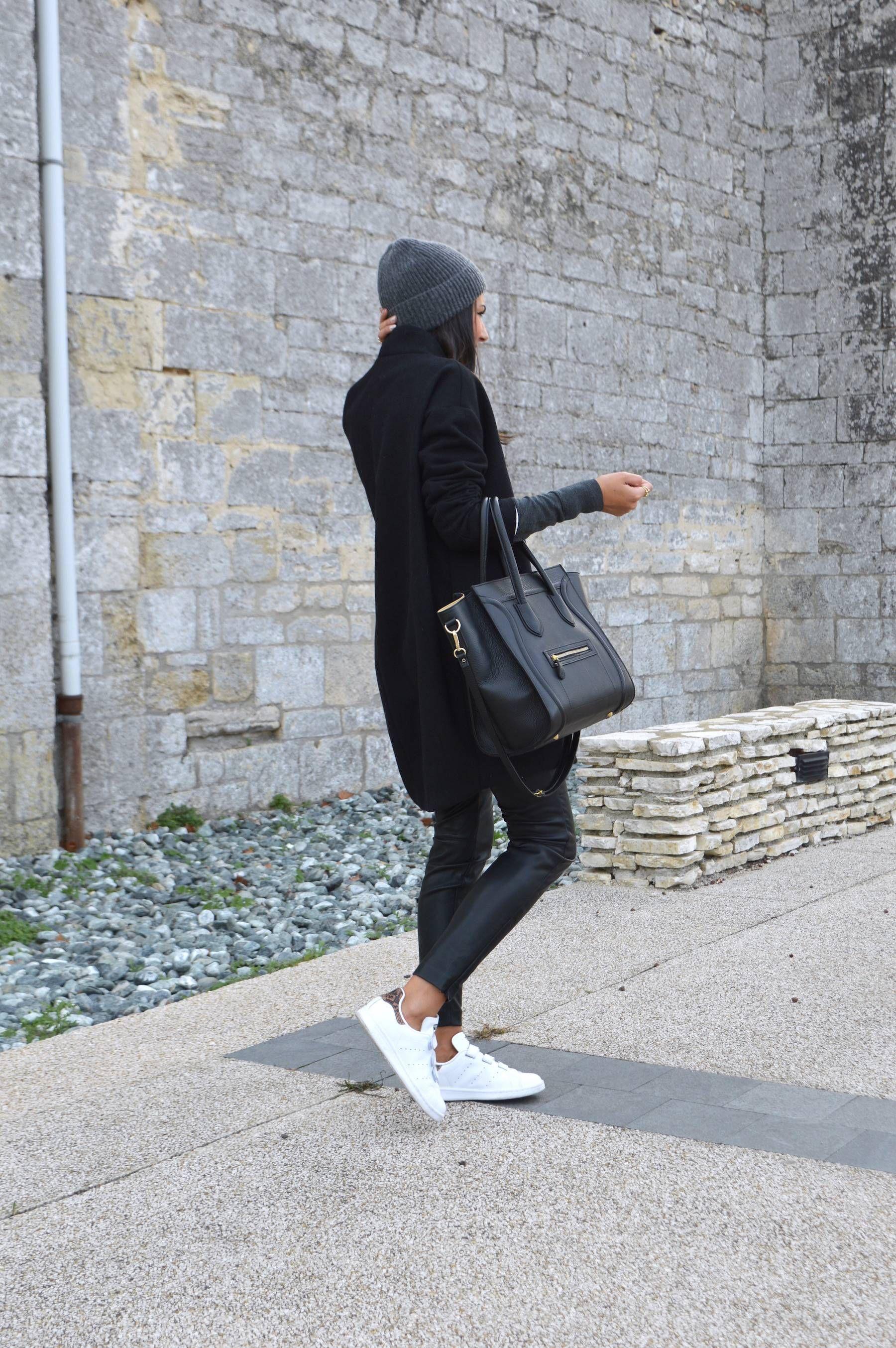 You+can+never+go+wrong+in+an+all+black+outfit.+Via+Federica+L.+Coat  Trousers +And+Other+Stories.+ c8ae202edeb