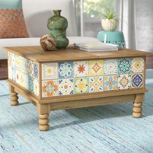 Campbell Lift Top Coffee Table With Images Coffee Table