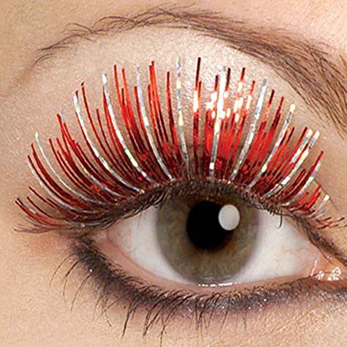 Large Red and Silver Hologram Eyelashes Rubie's http://www.amazon.com/dp/B0027WKAO0/ref=cm_sw_r_pi_dp_povSwb07Q7VH4