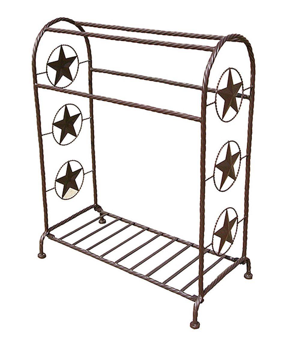 Star Wrought Iron Saddle Quilt Rack Quilt Rack Wrought Iron Decor Wrought Iron