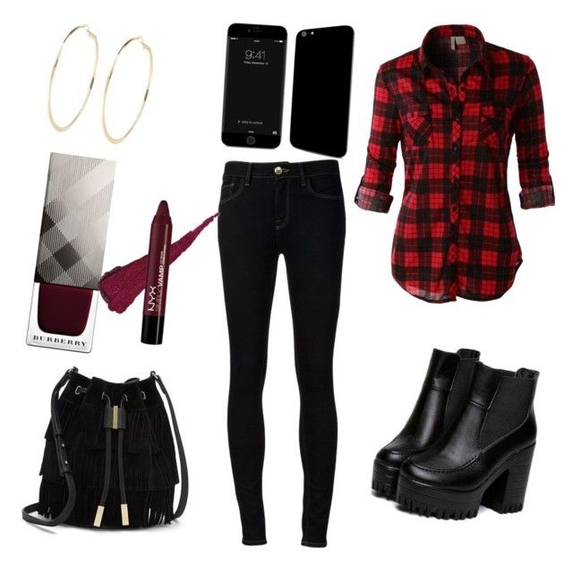 """""""outfit day"""" by alexia7528 on Polyvore featuring Ström, LE3NO, Vince Camuto, River Island and Burberry"""