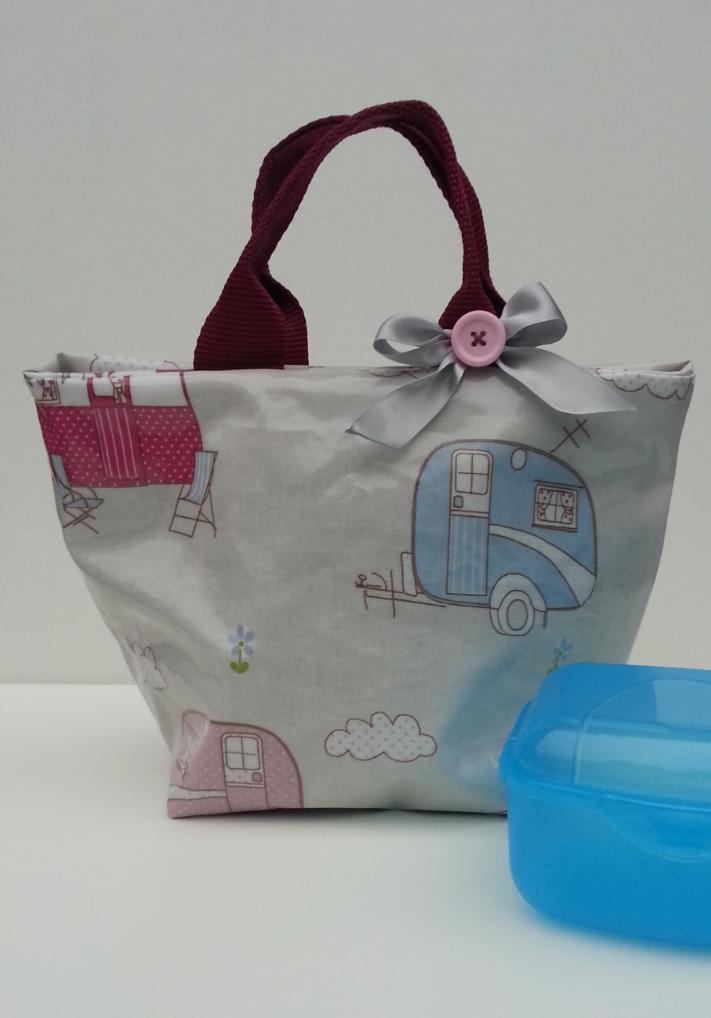 Caravan Lunch Bag - The Supermums Craft Fair