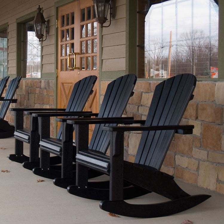 polywood seashell rocking chair rocking chairs adirondack