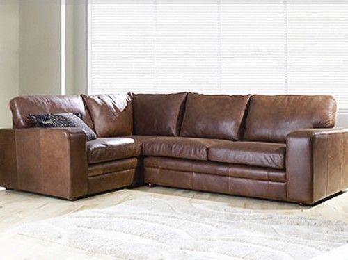 H F Vintage Corner Sofa
