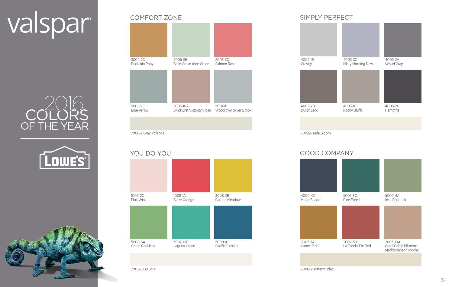 valspar 2016 colors of the year valspar colors valspar on valspar paint colors interior id=31257