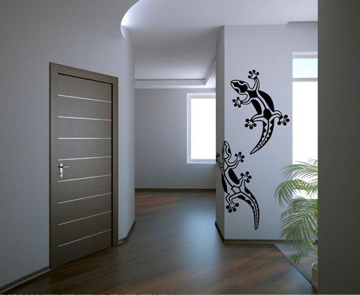 Gecko wall decal sticker