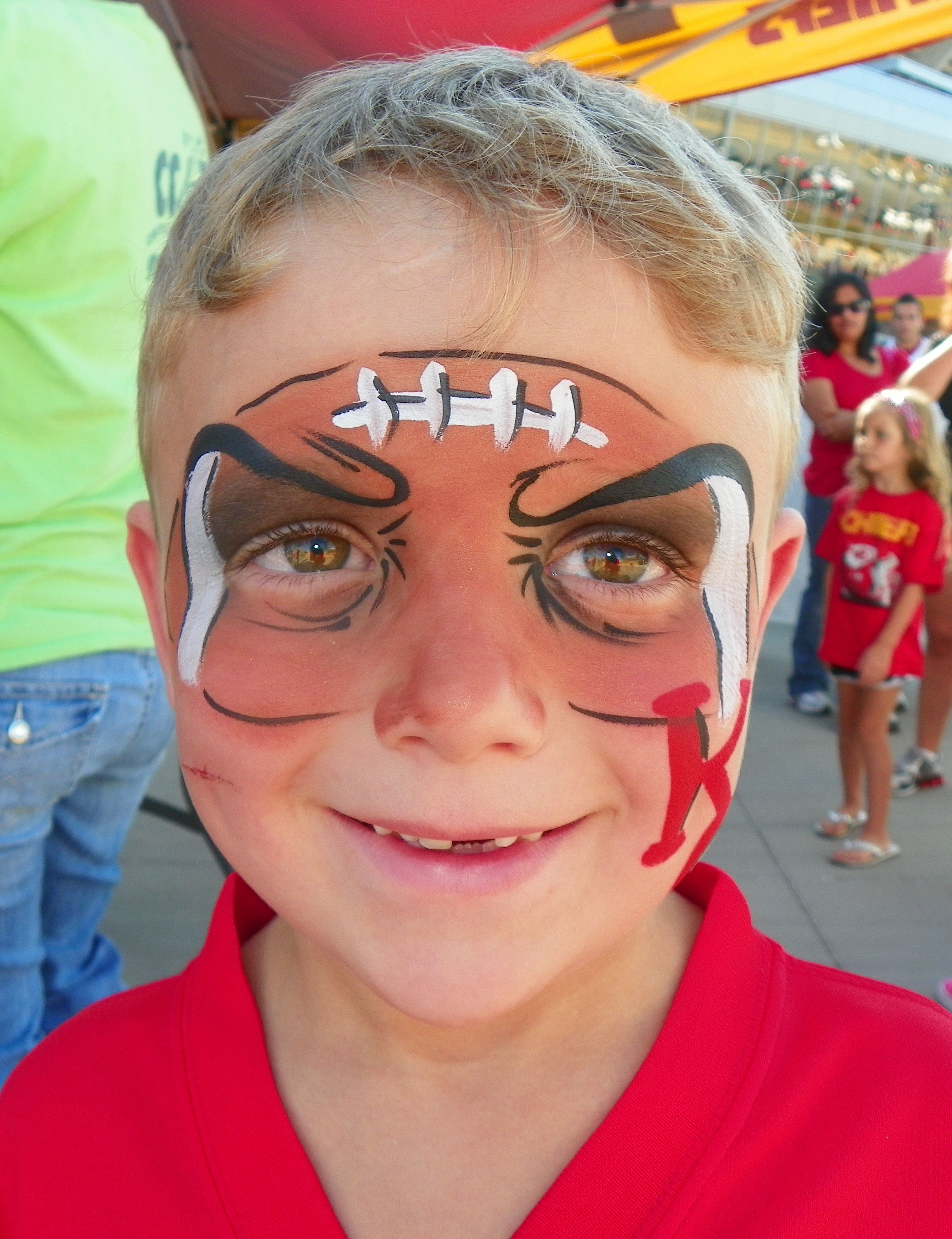 face painting Google Search Football face paint, Face
