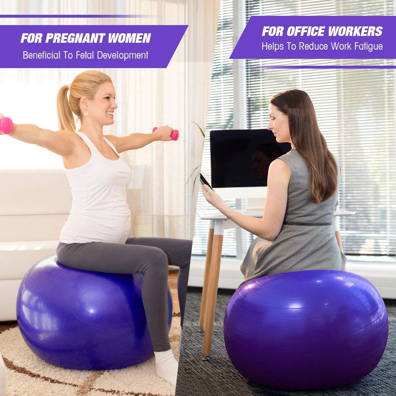Mga resulta ng larawan para sa PVC Fitness Balls Yoga Ball