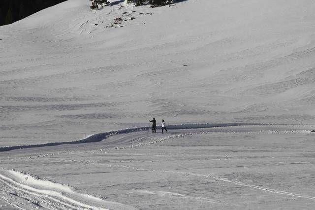 Los esquiadores ya pueden acceder a las pistas.