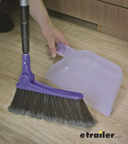 Camco Rv Adjustable Broom W Dustpan Camco Kitchen Accessories Cam43623 Broom And Dustpan Broom Dustpans And Brushes