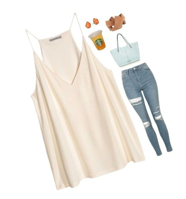 """""""Shawn Mendes new song Mercy came out last night at midnight!!! Ahhhhh just listened to it!!!! Ahhhhhh"""" by simplylovelyruru ❤ liked on Polyvore featuring H&M, Rebecca Minkoff, Topshop, Kendra Scott and Jack Rogers"""