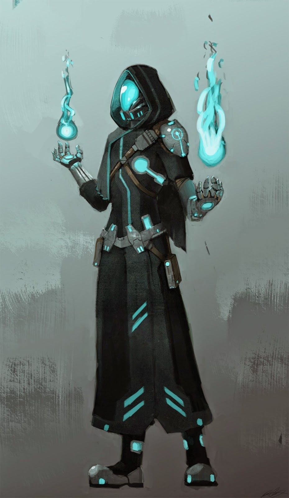 Like a Mage but in the FUTURE! by Daryl Catapang