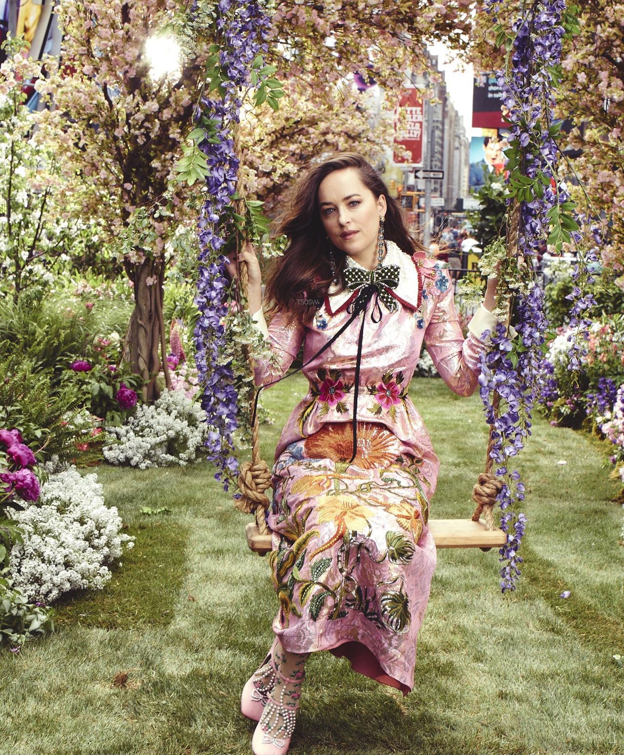 7397b44cb80 EXCLUSIVE  First 10 HQ Outtakes of Dakota s GUCCI Bloom Ad Campaign  Cr.   50shadesworldcm
