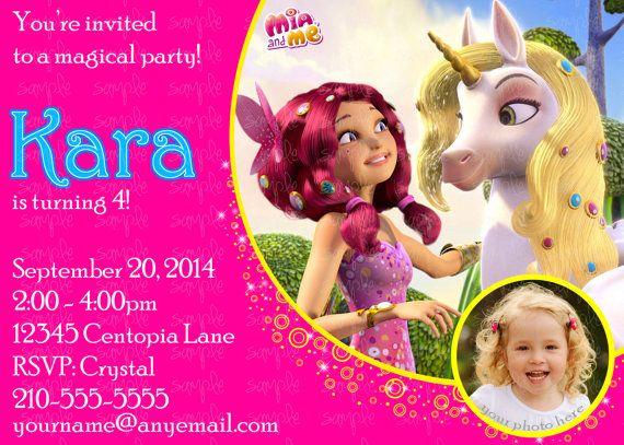 Children/'s Birthday Birthday Party Fete Motto Mia and me
