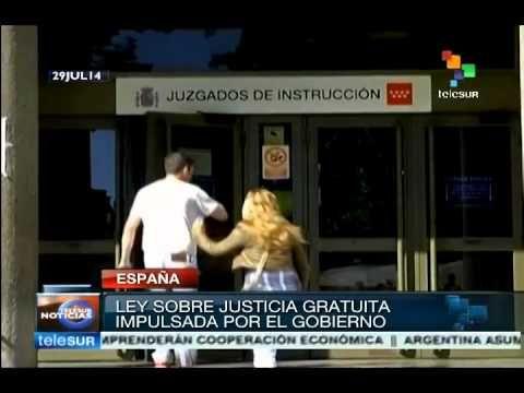 España: piden anulación del proyecto de ley sobre justicia gratuita