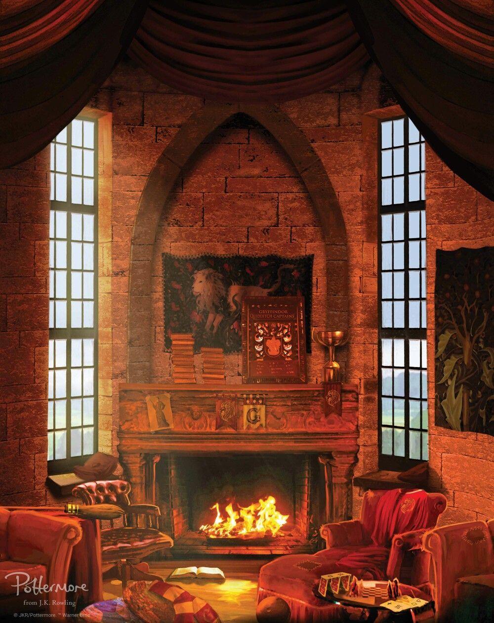 Gryffindor Common Room Harry Potter Fondos De Pantalla Casas De Hogwarts Sala Comun De Hufflepuff