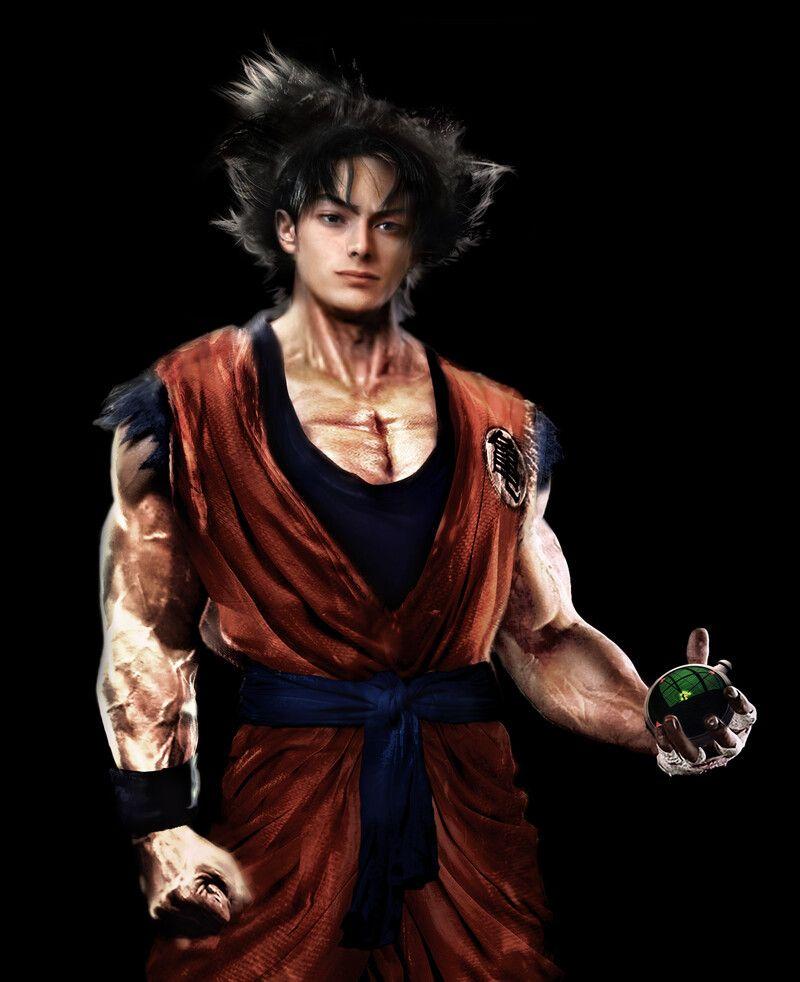 Pin By Xlover Newman On Realistic Dragon Ball In 2021 Goku Real Goku Dragon Ball Super Wallpapers