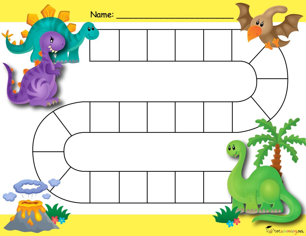 Free Dinosaur Potty Training Chart