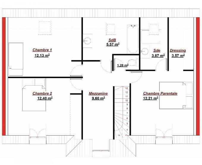La maison Carroussel 135 est un modèle classique du0027Ile de France - aide pour construire une maison