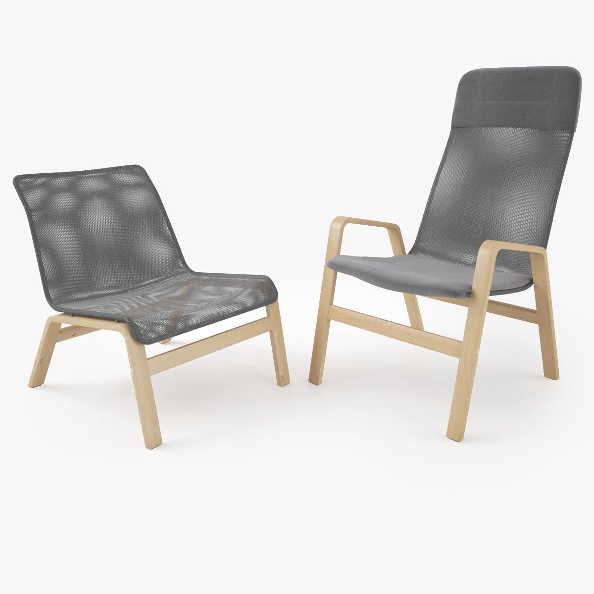 3d ikea nolbyn nolmyra armchair model home armchair for Ikea visualisation 3d