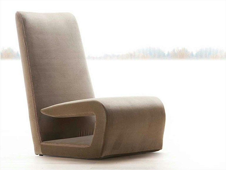 Sedie Erba ~ Upholstered armchair with headrest timeless by erba italia