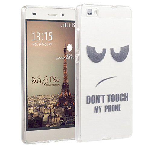 Huawei P8 Lite cover TPU,Custodia in Gel TPU Silicona case lucida ...