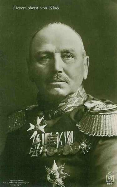 Alexander heinrich rudolph von kluck 20 may 1846 19 oct for Alexander heinrich