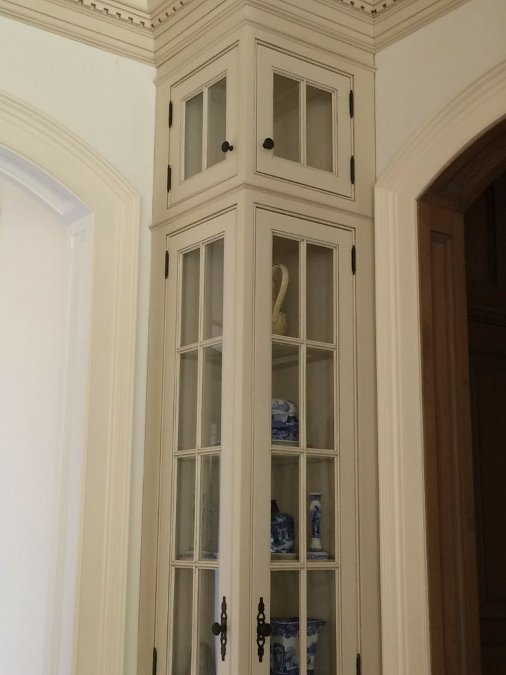 Image Result For Tall Narrow Cabinet  *beach  Pinterest  Glass Cool Small Corner Cabinets Dining Room Review