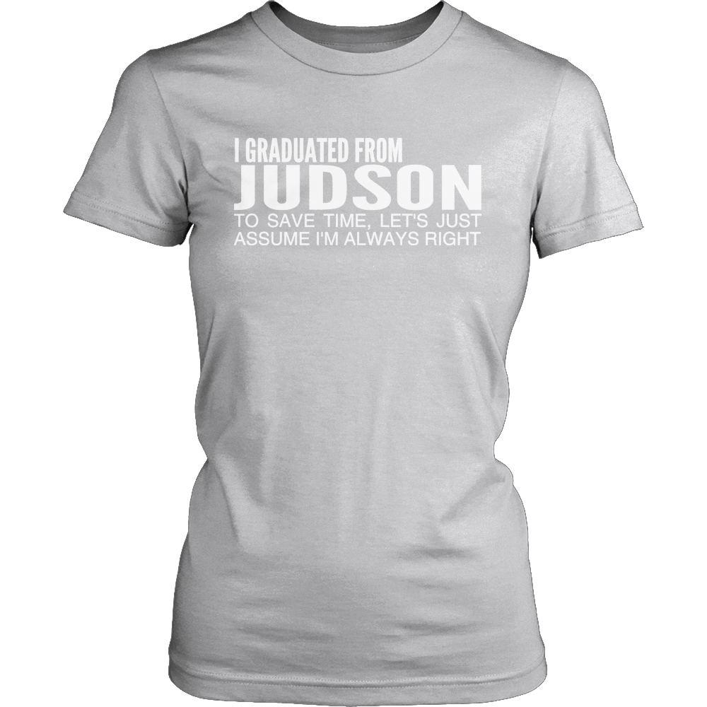 Judson Graduated From Ladies Tee