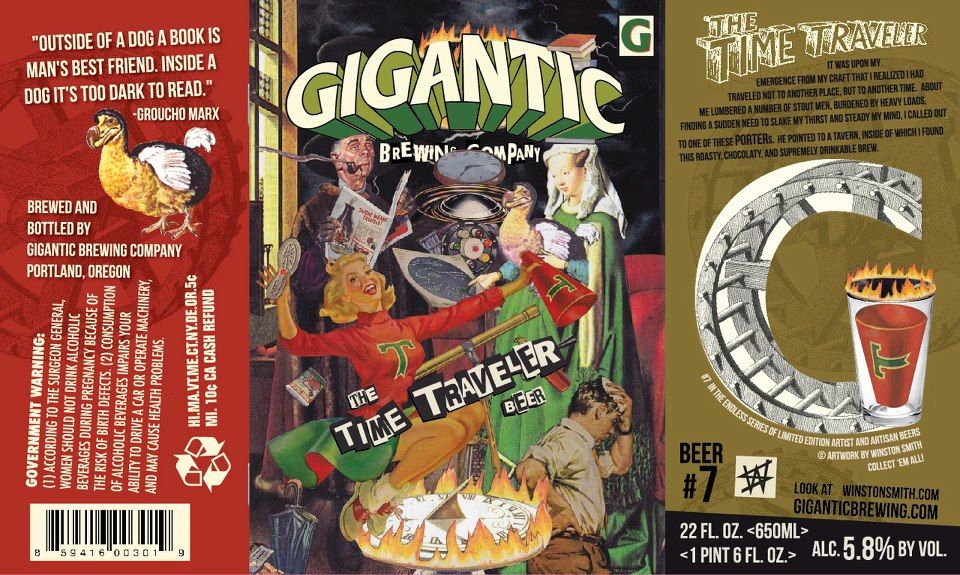 Time travel beer Gigantic Brewing The Time