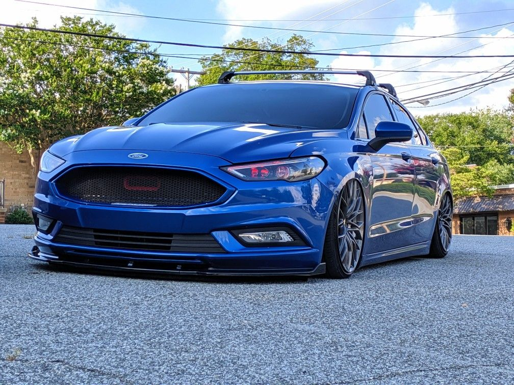 Ford Fusion Lowered Bagged Notyourgrandmasfusion Custom