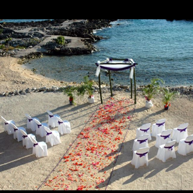 Simple Outdoor Wedding Reception Ideas: Cheap Beach Wedding, Simple Beach