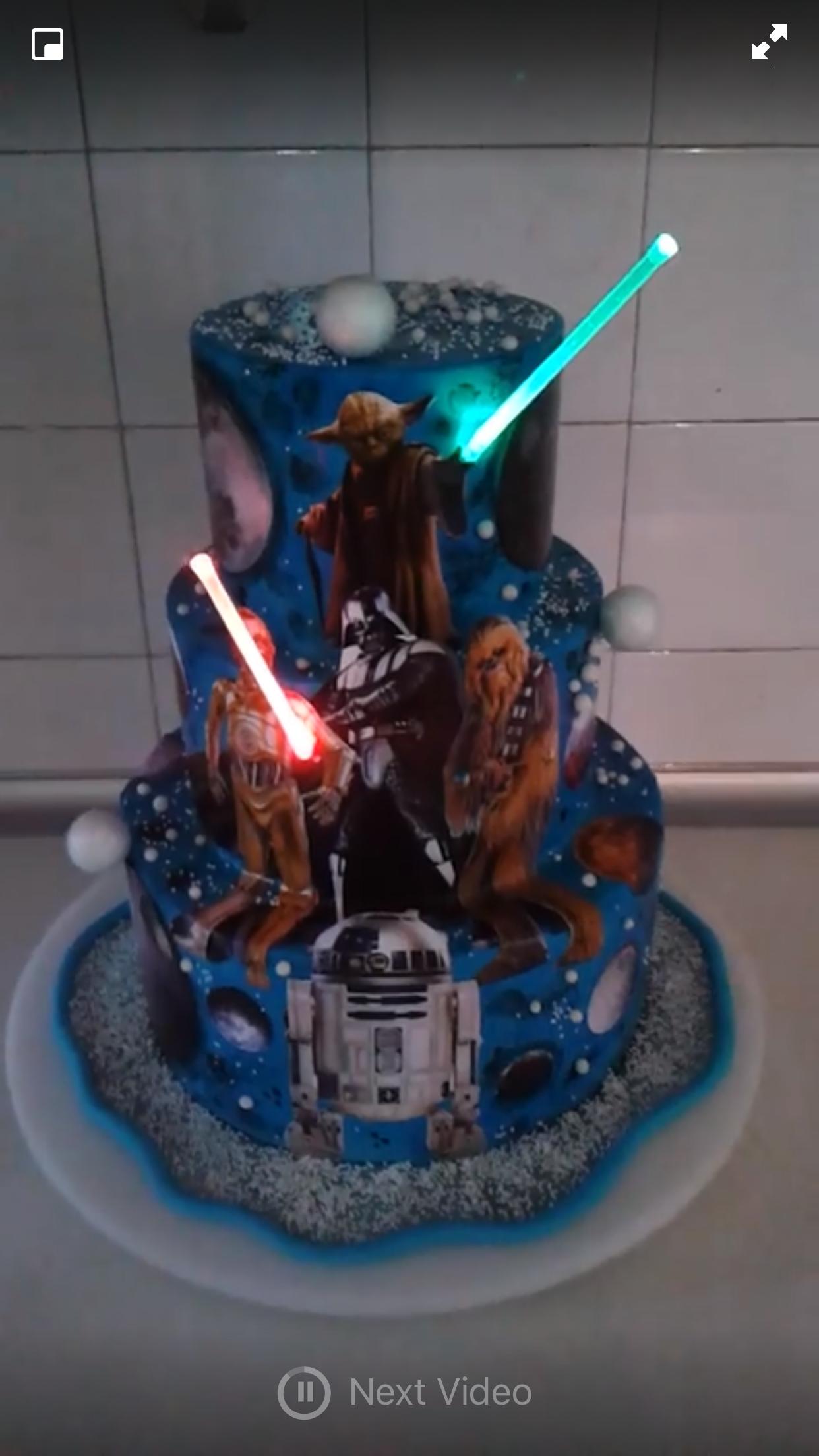 Star Wars Cake Birthday Shmarties Pinterest Star